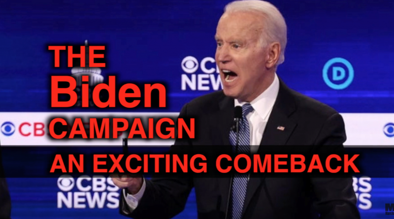 """IT'S ALIVE"" Joe Biden's Come Back"